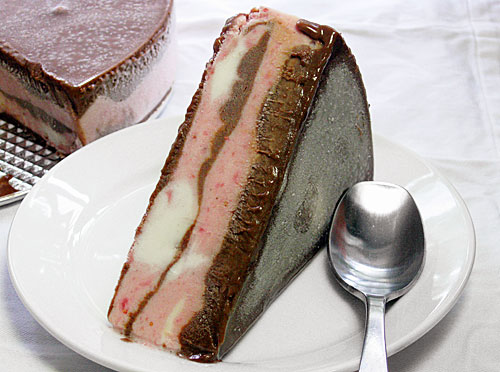 chocolate-banded-ice-cream-torte